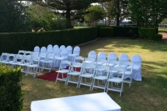Rose Garden for ceremony at Picnic Point Toowoomba